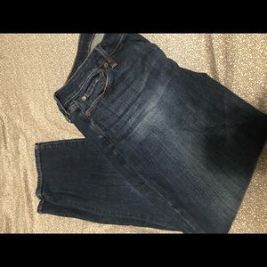 Lucky brand skinny jeans size 16/33 women's